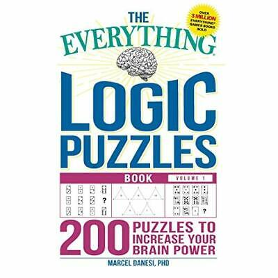 The Everything Logic Puzzles Book Volume 1: 200 Puzzle - Paperback NEW Danesi,