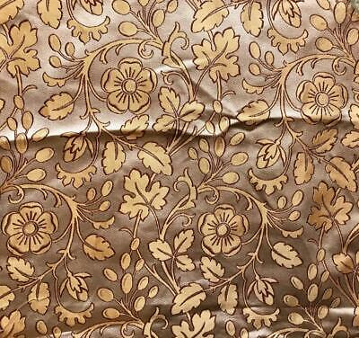 BEAUTIFUL 19th CENTURY FRENCH FINE SILK BROCADE, PROJECTS, REF 146.