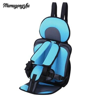 QUALITY Kids Safety Thickening Cotton Adjustable Children Car Seat Safe Tested