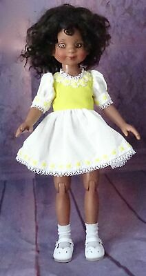 "14"" Robert Tonner African American Drew, Betsy McCall doll, jointed w/ dress"