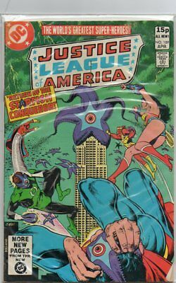 Justice League of America DC Comics 189
