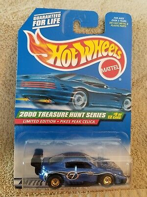 Hot Wheels 2000 Treasure Hunt Series Limited   Pikes Peak Celica Blue  (w1)