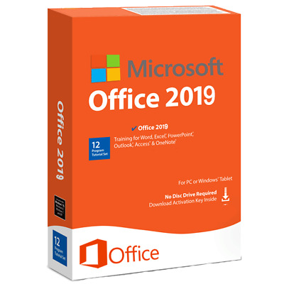 Office 2019 Pro Plus 32/64 Bit Dowload License Genuine For 1Pc & Fast Delivery