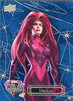 2016 Upper Deck Marvel Gems Ruby Parallel 23 Wasp The Avengers 01/99 MINT! RARE!