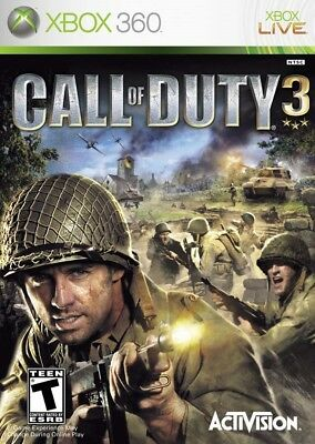 Call of Duty 3 - Xbox 360 Game Only
