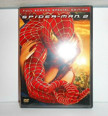 Spider-Man 2, DVD. Full Screen Special Edition