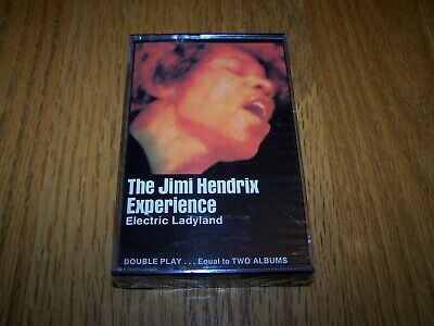 "The Jimi Hendrix Experience ""electric Ladyland"" Cassette Tape Wb J5 6307 Sealed"