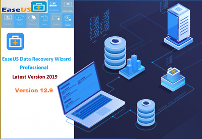 Easeus Data Recovery Wizard 12.9 Pro  Latest Genuine License Upgrade For Life