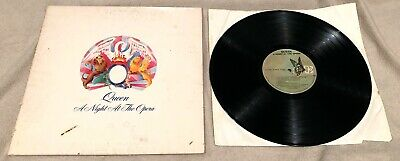 Queen ~ A Night At The Opera Vinyl LP EX 1975 Elektra 7E-1053 SP Embossed Cover