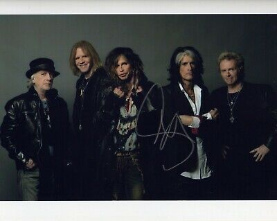 Aerosmith Signed Autographed Photo 8x10 NO REPRINT