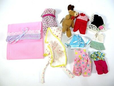 #31 Barbie Doll Accessories Clothing Kelly Krissy Friends Fashion Lot 10 Pieces