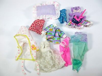 #32 Barbie Doll Accessories Clothing Kelly Krissy Friends Fashion Lot 10 Pieces!