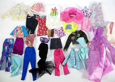 #18 Barbie Doll Accessory Clothing Fashion Lot Of 25 Pieces!