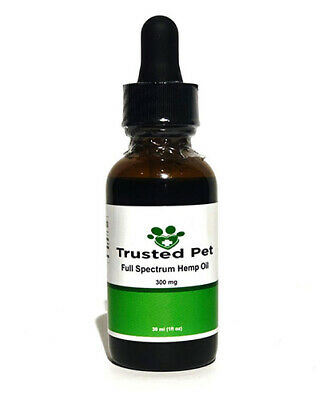 Trusted pet (300mg)Full Spectrum Hemp Oil for Dogs Cats Pets Anxiety Relief