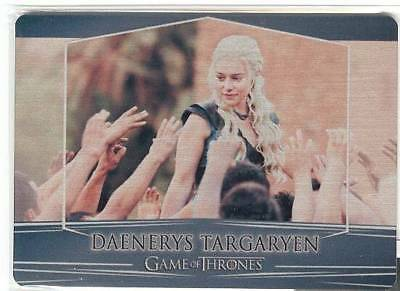17 Game Of Thrones Valyrian Steel Card 4a Daenerys Targaryen Rittenhouse Rewards