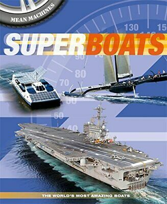 Superboats (Mean Machines) by Harrison, Paul Book The Cheap Fast Free Post