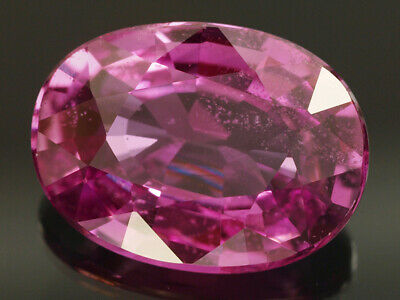 Natural Mine - Unheated Oval Purple Pink Sapphire 1.30 Ct.