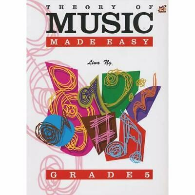 Theory of Music Made Easy Grade 5 - Paperback NEW Lina Ng (Author 2003-05-16