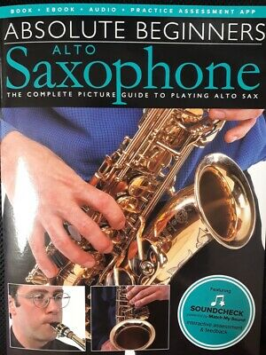 Absolute Beginners - Alto Saxophone - Book/Audio Download 1