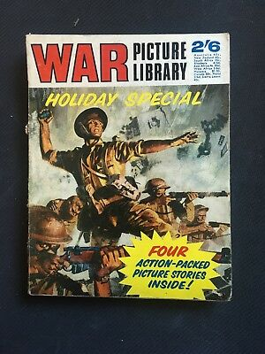 War Picture Library Holiday Special - 1969 Ipc Magazines