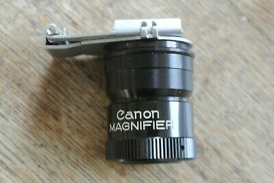 Canon FD EF Eyepiece magnifier Viewfinder NICE
