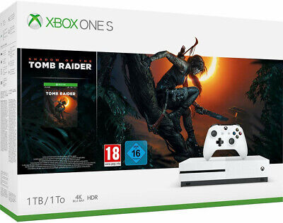 Xbox One Consola S 1TB + Shadow of the Tomb Raider