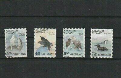 TIMBRES --NEUF--MINT--OISEAUX-BIRDS-GRONLAND.  Forte cote