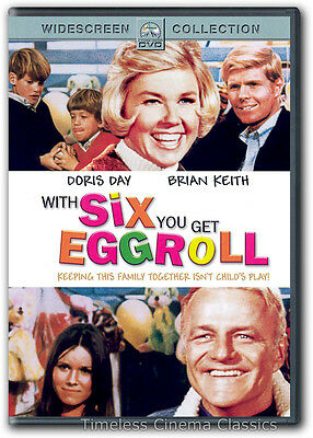With Six You Get Eggroll DVD New Doris Day Brian Keith