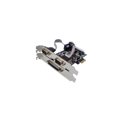 Longshine LCS-6322M Serial & Parallel PCIe Card interface cards/adapter Modem -