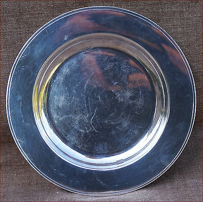 CHRISTOFLE ALBI Silverplate Serving Dish Platter Ø 9""
