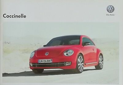 COCCINELLE VOLKSWAGEN BEETLE VW BUG  Brochure Documentation Prospekt