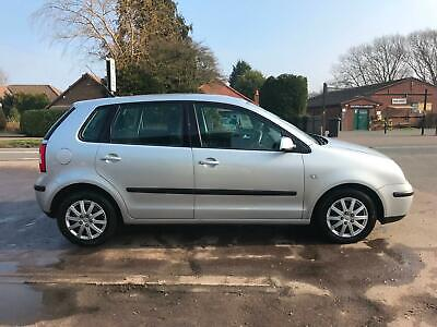 2002 02 Volkswagen Polo 1.4 ( 75bhp ) SE lady owner 2.5 years very clean.