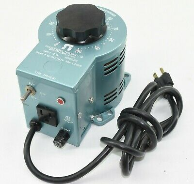 Staco Type 3PN1010 Variac Autotransformer - Tested, 0-140VAC 1.4KVA -READ