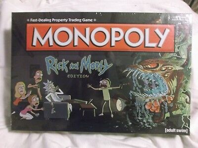 RICK AND MORTY Edition - Monopoly Board Game (USAopoly Hasbro)