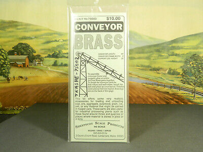 HO 1:87 BRASS KIT Sheepscot Scale Products No. 75002 CONVEYOR New in Bag