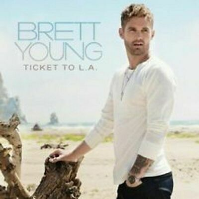 BRETT YOUNG - Ticket to L.A. by Brett Young (CD) - NEW! AWESOME! Take a L@@K!