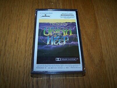 "Uriah Heep ""the Best Of Uriah Heep"" Cassette Tape Phonogram Records Still Sealed"