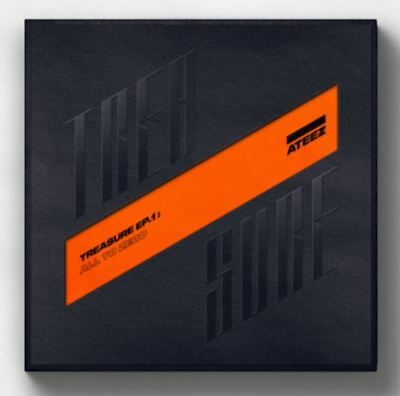 K-POP ATEEZ Album TREASURE EP.1 : All To Zero - 1 Photobook + 1 CD Free Shipping
