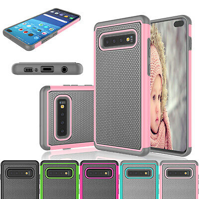 For Samsung Galaxy S10+/S9+/S8+/S10 E Case Shockproof Armor Hybrid Phone Cover