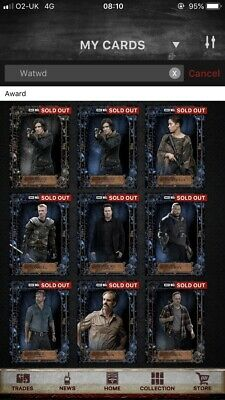 We Are The Walking Dead Collection - WATWD - Topps The Walking Dead Card Trader