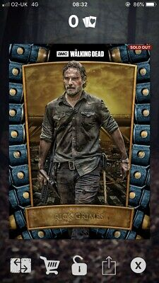 Rick Grimes - Survival Syndicate - 181cc - Topps The Walking Dead Card Trader