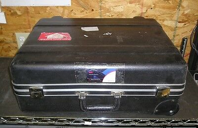 ARC Heavy Duty Road/Flight Case Travel Case w/ Wheels No Foam or Keys