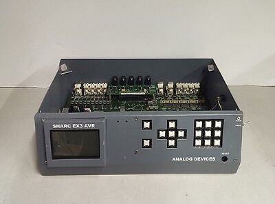 Analog Devices Sharc EX3 AVR Audio Video Receiver Missing Cover No AC Adapter