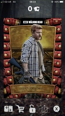 Abraham- Survival Syndicate - 51cc - Topps The Walking Dead Card Trader