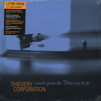 Thievery Corporation - Sounds From The Thiever (Vinyl 2LP - 1996 - US - Reissue)
