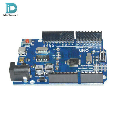 UNO R3 ATMEGA328P-16AU CH340G MICRO USB Development Board Compatible For Arduino