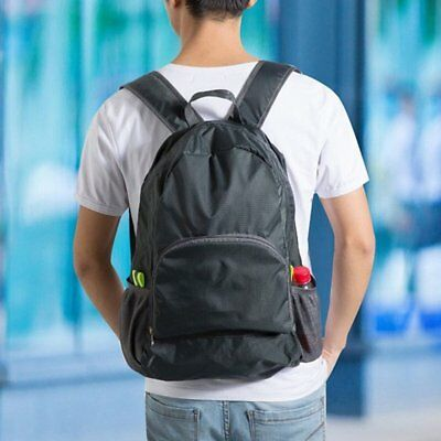 20L Foldable Men Women Waterproof Backpack Lightweight Travel Camping Bags VY