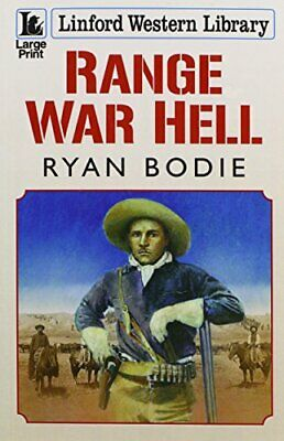 Range War Hell (Linford Western Library) by Bodie, Ryan Book The Cheap Fast Free
