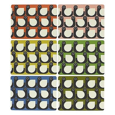 Orla Kiely Placemats Hen Assorted Colours - Set of 6