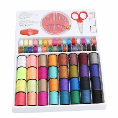 Essential Sewing Tools Kits Sewing Travel Kits Portable 64 Color Sewing Line UK&